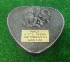 Cat Large Pet Memorial/headstone/stone/grave marker/memorial with plaque 19