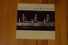 "Rare Fates Warning Perfect Symmetry Promotional Album Flat Art Poster 12.5"""