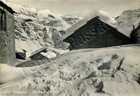 Cartolina di Morasco (Formazza), panorama invernale - Verbania