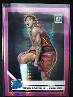2019-20 Donruss Optic Kevin Porter Jr. PINK Hyperprizm RC, CAVS Rated Rookie !!