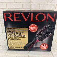 Revlon Pro Salon One Step Hair Dryer Volumizer Pink NEW Fast Ship Puerto Rico