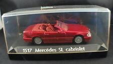 Solido 1517 ◊ Mercedes SL cabriolet ◊ 1/43 ◊ en boite/boxed