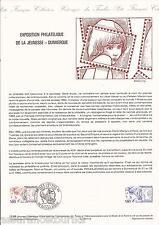 DOCUMENT PHILATÉLIQUE - EXPO PHILATÉLIQUE - 1er JOUR 1984