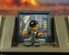Hasbro Fighter Pods Micro Hereos Star Trek SULU S1-17 Cake Topper Figure K1281Y