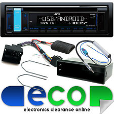Peugeot 307 CC SW 2005 On JVC CD MP3 USB Car Stereo Steering Wheel Fitting Kit