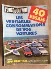 L'AUTO JOURNAL  n°8 de 1983 - OPEL KADETT GTE  -ca47