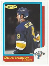1986-87 OPC HOCKEY #93 DOUG GILMOUR - EXCELLENT-