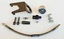 Jerzee Customs Oil Pressure Gauge Kit for Harley Davidson Milwaukee Eight -Black