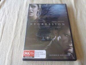 Regression (DVD, 2012) Region 4 Ethan Hawke, Emma Watson