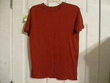 t-shirt red machine small 100% cotton