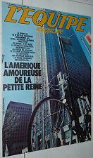 EQUIPE MAGAZINE N°40 1980 CYCLISME AUX USA DROPSY BATTISTA REY MARATHON NY