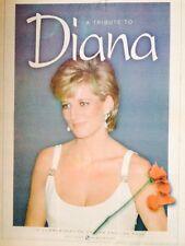PRINCESS DIANA 1998 Southern News UK Commemorative Newspaper English Rose Rare
