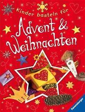 Kinder basteln für Advent und Weihnachten von Marlies Busch (2011, Taschenbuch)
