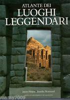 LIBRO=ATLANTE DEI LUOGHI LEGGENDARI - J HARPUR/J. WESTWOOD - DE AGOSTINI 1990 -
