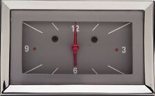 1957 chevy bel air classic instruments gauge clock gray
