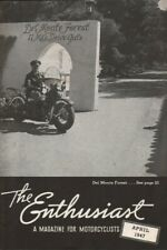 1947 April - The Enthusiast - Vintage Harley-Davidson Motorcycle Magazine