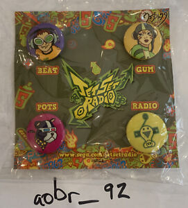 Jet Set Radio Promotional Pins PAX East 2011