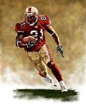 Frank Gore San Francisco 49ers 13 X 17 Giclee by James Byrne Series 1