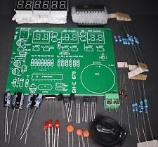 ELECTRONICS KIT 6 DIGIT LED CLOCK BATTERY BACK UP EASY TO BUILD PACK OF 1 KIT