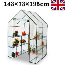 Small Garden GreenHouse Walk In Plastic mini Greenhouses Reinforced Compact