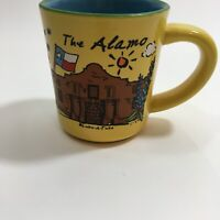 VTG The ALAMO SAN ANTONIO TEXAS Travel Souvenir Coffee Cup Mug By Luke-A-Tuke