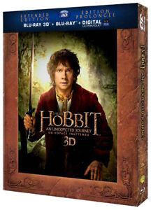 The Hobbit: An Unexpected Journey 3D - Extende New Blu