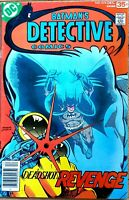 DETECTIVE Issue #474 VF+ 1st DEADSHOT appearance DC Comics BATMAN 1977 Key Issue
