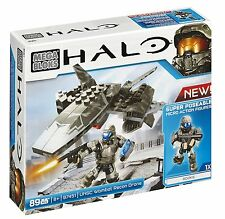 Mega Bloks Halo UNSC Wombat Recon Drone Action Combat Forces Figures Toy Set