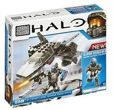 Mega Bloks Halo UNSC Wombat Recon Drone Action Combat Forces Figures Toy Set
