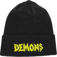 Demons Beanie,Drama Horror Film Hat,Lamberto Bava Embroidered Design
