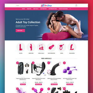 ADULT TOYS - Dropshipping Website - Turnkey Dropship Business For Sale
