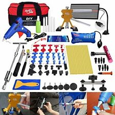 Pdr Car Body Paintless Dent Removal Lifter Puller Led Line Board Repair Tool Kit