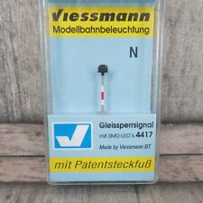 VIESSMANN 4417 - SPUR N - Gleissperrsignal mit Patentsteckfuß - OVP - #Z30845