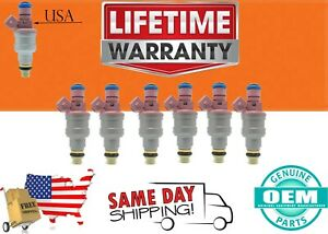 X6  Bosch Fuel Injectors DODGE Ram 1500 1997 - 1999 V6 3.9 8USA  0280150998