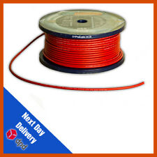 Van Damme Tour Grade XKE Red Microphone Cable | Mic Cable |50m