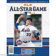 2013 MLB ALL STAR GAME PROGRAM CITI FIELD MATT HARVEY COVER