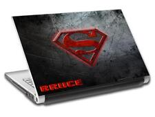 Superman Logo Super Hero Personalized LAPTOP Skin Cover Decal Vinyl Sticker L777