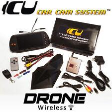 ICU Car Cam System™ Drone Wireless Rear View Driving SoloCam & ICU Video Monitor