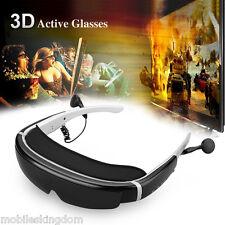 "98"" HD Virtual Digital Portable 3D Video Glasses 8GB AV IN Support 32GB TF Card"