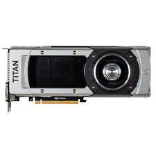(macvideocard) NVIDIA GTX TITAN NERO 6GB Graphics double data rate 5 PCI-E 3.0 scheda video MAC Pro