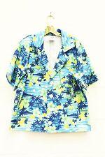Men's Flower Hawaiian Shirt  Ex Hire Costume Size Large