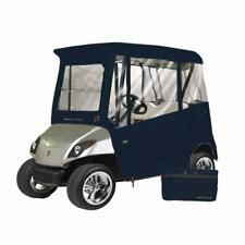 Greenline 2 Passenger Yamaha Drivable Golf Cart Enclosure - Waterproof - Navy