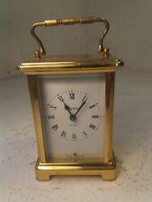 Vintage Reloj de latón de transporte