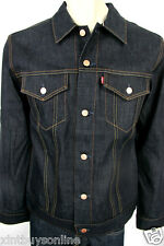 Levis Strauss Jacket Levi's 705890040 Selvedge Denim Made In USA Large Levi's