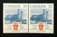 Canada #1029i + 1029 MNH, Roman Catholic Church Stamp 1984