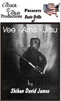 David James Vee Arnis Jitsu DVD #2 Punching Choking Armlocking escrima kali fma
