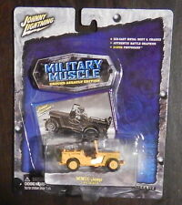 Johnny Lightning Military Muscle WWII Jeep