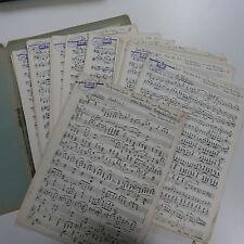 orchestra parts EIN BERGMANNSFEST RHAPSODY 9 max kaempfert