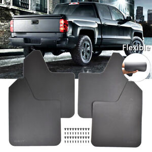 Rally Mud Flaps For Silverado Splash Guards Mudguards Mudflap Fender Flexible