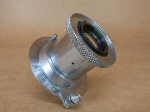 Leitz Leica 50mm 1:3.5 Elmar Lens uncoated 1935